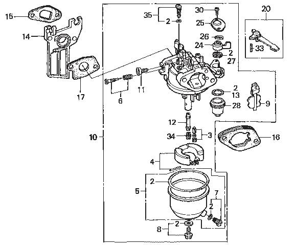 moteur honda gx120 ffsa admission carburateur ns comp tition. Black Bedroom Furniture Sets. Home Design Ideas